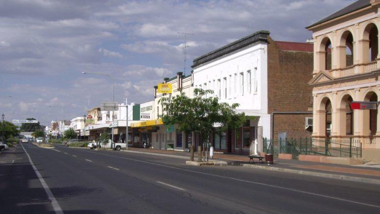 Cootamundra main street