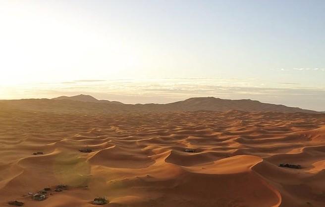 Desert in Errachidia