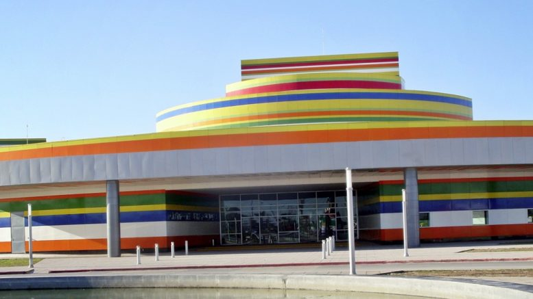 Cultural park Reynosa in Mexico