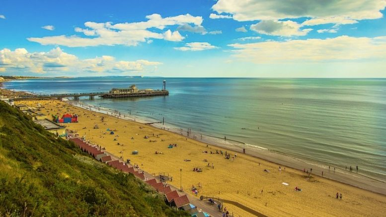 bournemouth coast photo
